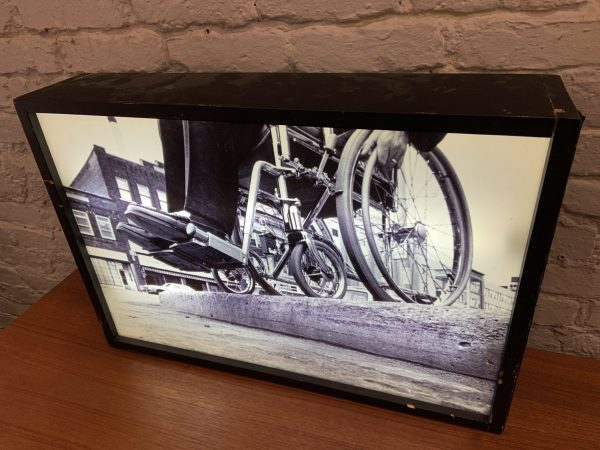 Transparent Photograph in Light-Box