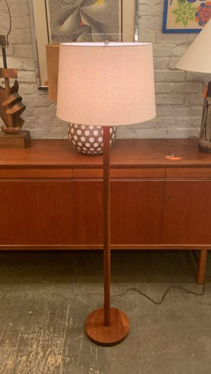 Teak Floor Lamp from Denmark