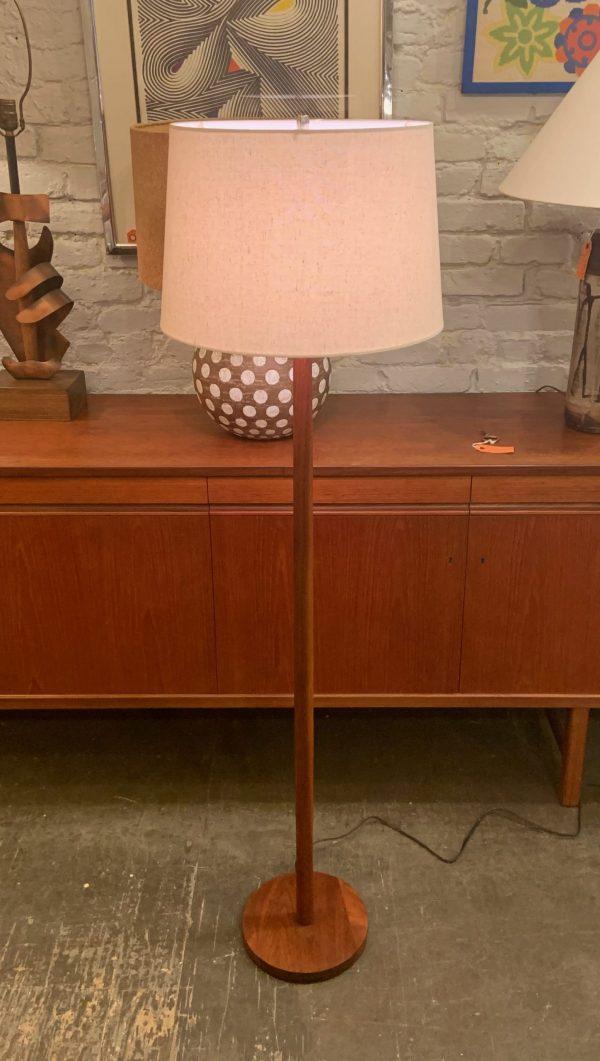 Teak Floor Lamp from Denmark