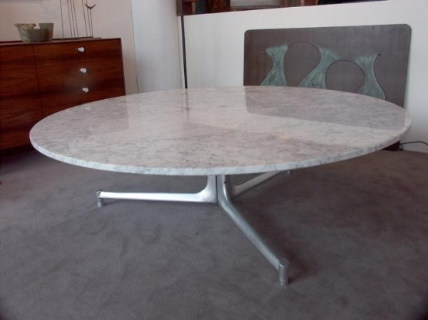 Massive Marble Coffee Table by Fabricius and Kastholm