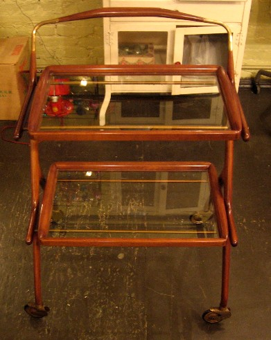 Cesare Lacca Two Tiered Serving Cart