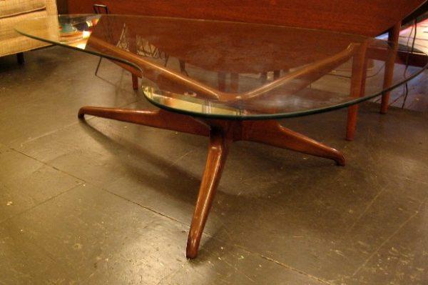 Vladimir Kagan Tri-Symetric Coffee Table