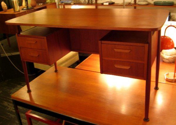 G Tibergaard Nielsen Teak Desk from Denmark