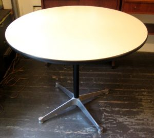 """Charles Eames 36"""" Aluminum Group Table"""