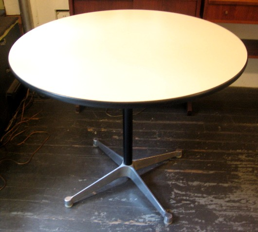 "Charles Eames 36"" Aluminum Group Table"