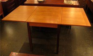 Teak Drop-Leaf Dining Table