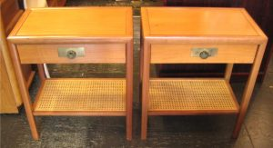 Pair of Bedside Tables attr. to Michael Taylor for Baker