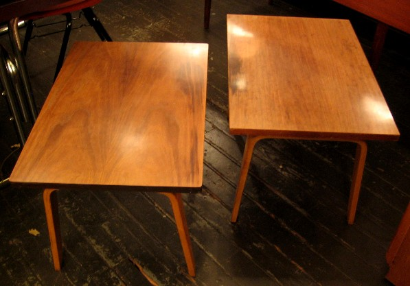 Pair of Thonet Side Tables