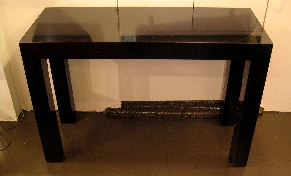 Petite Parsons Style Console Table