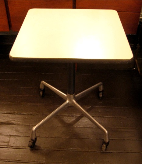 Eames Aluminum Group Typing Table