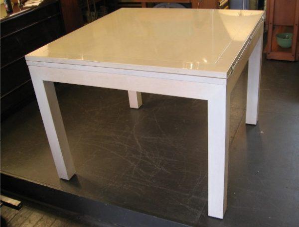 Flip Top Extension Parsons Table