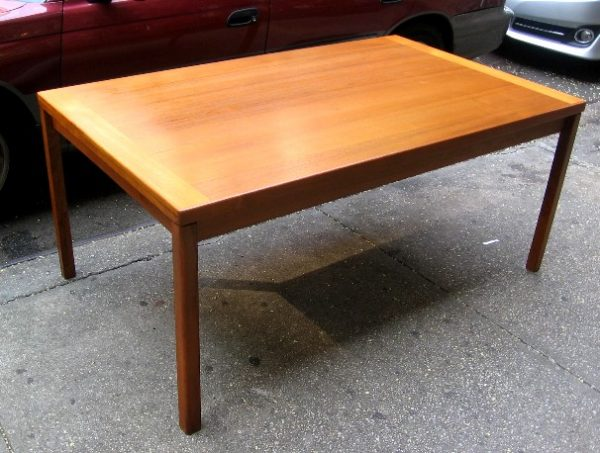 Large Danish Teak Extension Dining Table