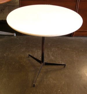 Iron Cafe Table in the style of Paul McCobb