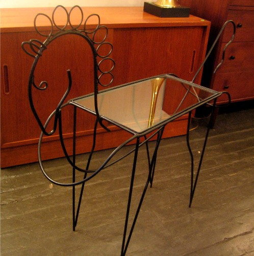 Frederick Weinberg Style Horse Table