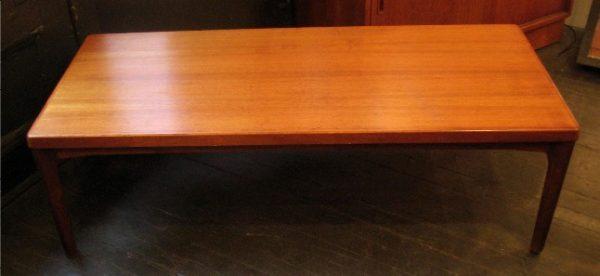 Danish Teak Coffee Table by Vejle Stole