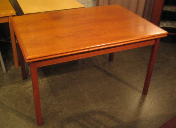 Teak Draw Leaf Extension Table from Denmark