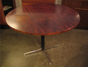 Brazilian Rosewood Round Table from Norway