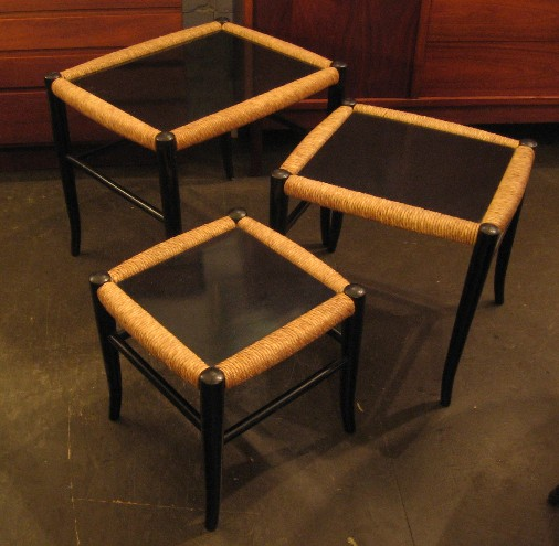 Set of Three Nesting Tables from Italy
