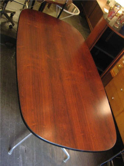 Eames Aluminum Group Rosewood Dining Table