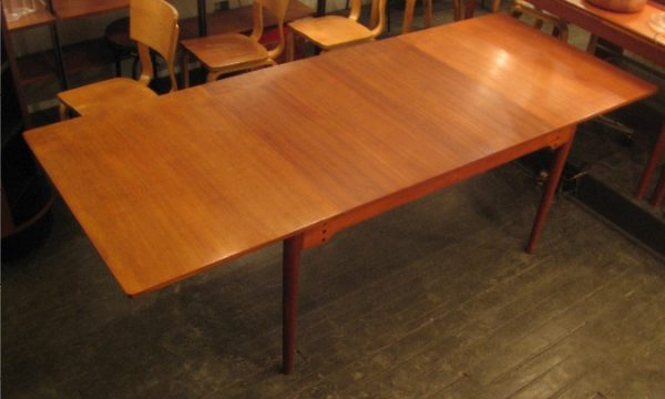 Teak Extension Dining Table by Illums Bolighus