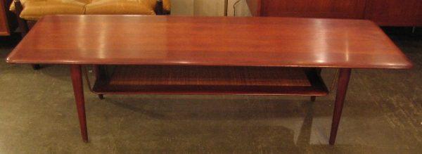 Long Teak Coffee Table by Peter Hvidt