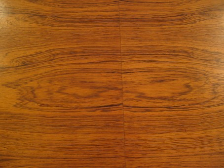 Harvey Probber Bleached Rosewood Oval Dining Table