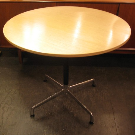 Eames Aluminum Group 36 Inch Round Table