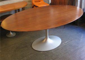 Saarinen Walnut Dining Table by Knoll