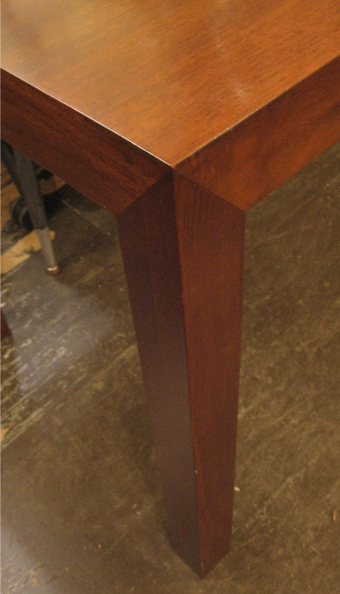 Parsons Style Walnut Table by Paul Mayan
