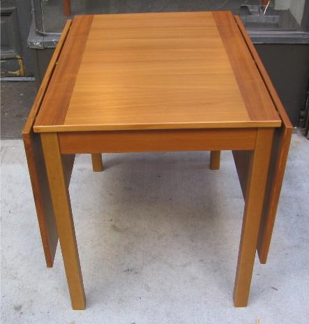 Teak Drop Leaf Table from Denmark