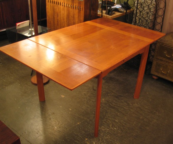 Square Teak Extension Table from Denmark