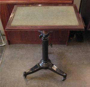 Industrial Cast Iron Adjustable Table
