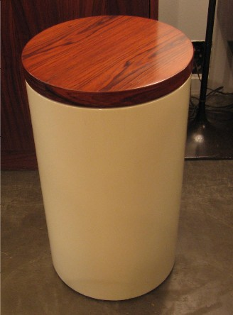 Cylinder Side Table by Paul Mayen