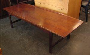 Teak Coffee Table by Folke Ohlsson for DUX