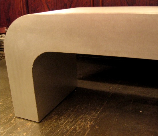 Laminated Metal Bench / Table
