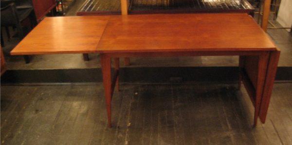 Poul Cadovius Walnut Drop Leaf Dining Table
