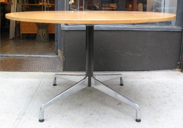 "Eames 48"" Aluminum Group Table"