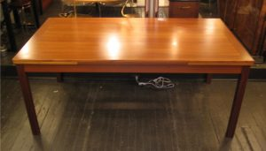 Large 1970s Teak Extension Table from Denmark