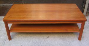 Two Tier Teak Coffee Table from Denmark