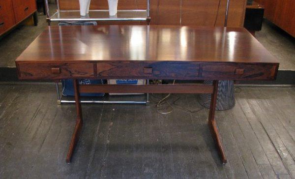 Georg Petersens Cantilevered Brazilian Rosewood Desk