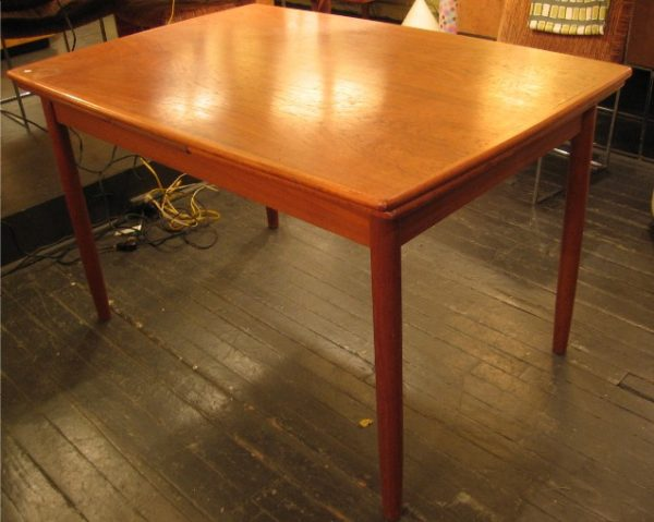 Teak Danish Draw Leaf Extension Table