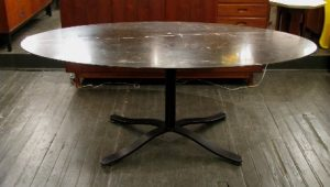 Oval Dining Table by Nicos Zographos