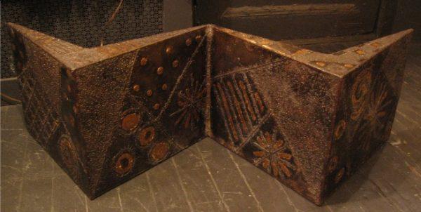 Paul Evans Sculpted Steel Coffee Table