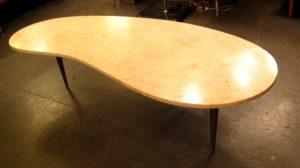Jerusalem Limestone Kidney Shaped Coffee Table