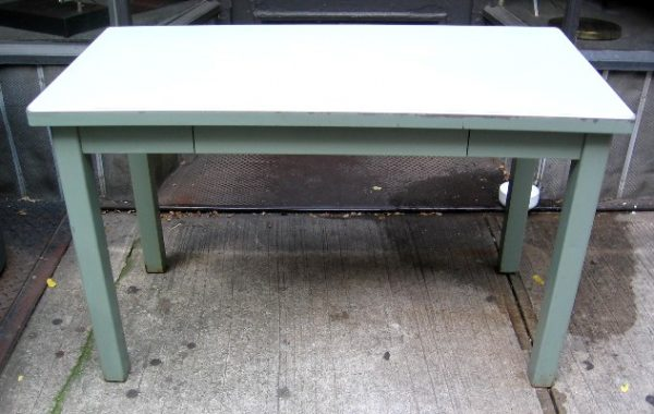 Industrial Style Metal Writing Table