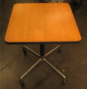 Eames Aluminum Group Rolling Task Table