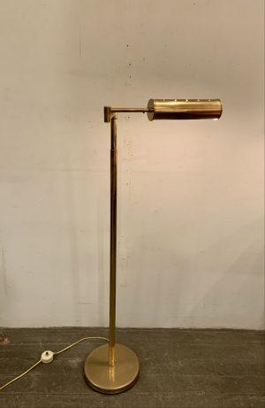 Nessen Telescoping Swing Arm Brass Pharmacy Lamp