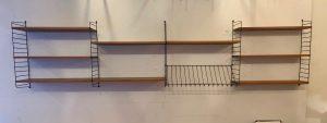 Modular String Wall Unit in Teak by Nisse Strinning, Sweden