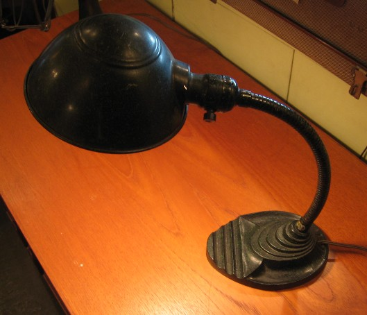 1940s Industrial Style Student Lamp