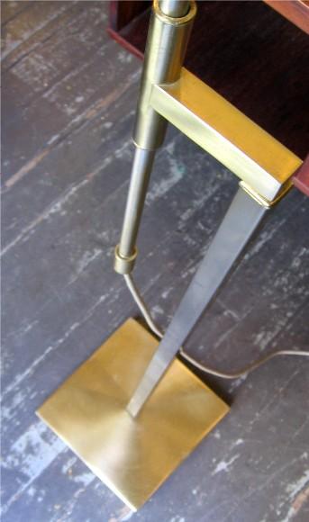 1960's Adjustable Brass Floor Lamp by Laurel Lamp Co.